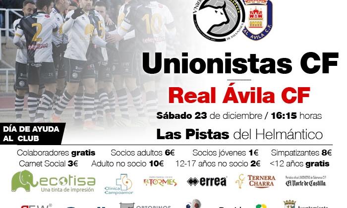 ENTRADAS   Unionistas - Real Ávila (sábado 23 de diciembre)