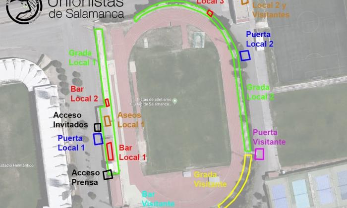 Protocolo de seguridad para el partido frente al CD Don Benito