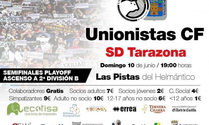 Unionistas CF - SD Tarazona | Información sobre la adquisición de entradas