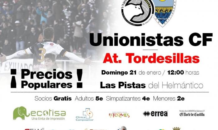 JORNADA 22 | Precios populares para recibir al Atlético Tordesillas en la matinal del domingo