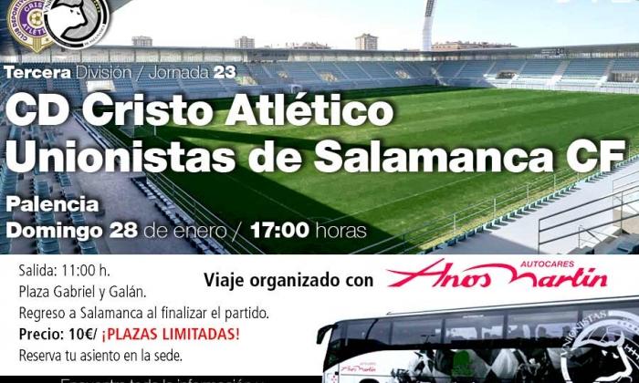 JORNADA 23 | Viaje en autobús a Palencia (domingo 28)