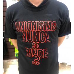 """Camiseta """"Unionistas Nunca..."""