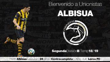 FICHAJE | Unionistas CF refuerza su plantilla con el centrocampista Haritz Albisua