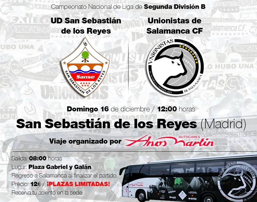 Entradas Y Viaje A San Sebastián De Los Reyes 16 De Diciembre