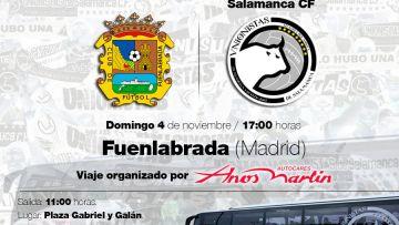 Entradas y viaje organizado a Fuenlabrada (4 de noviembre)