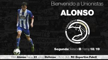 FICHAJE | El lateral Blas Alonso llega para reforzar la defensa