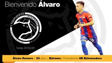 Álvaro Romero, nueva incorporación para la próxima temporada