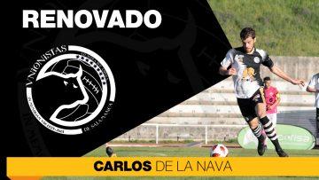 PLANTILLA | Carlos de la Nava amplía su contrato con Unionistas de Salamanca hasta 2022