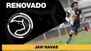 PLANTILLA | Javi Navas seguirá de blanquinegro al menos las dos próximas campañas