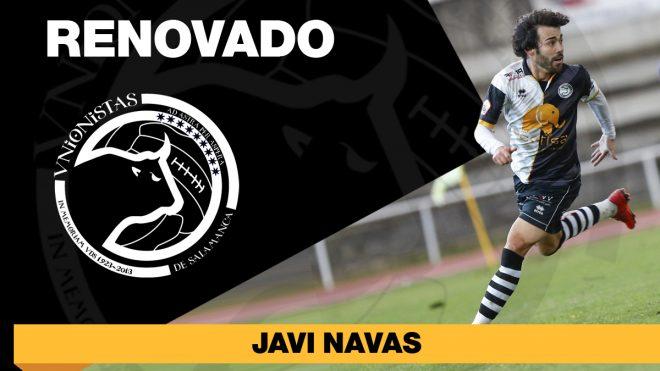 PLANTILLA   Javi Navas seguirá de blanquinegro al menos las dos próximas campañas