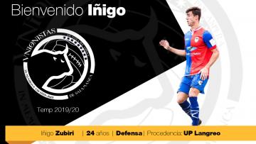 Iñigo Zubiri se convierte en el cuarto fichaje de Unionistas de Salamanca CF