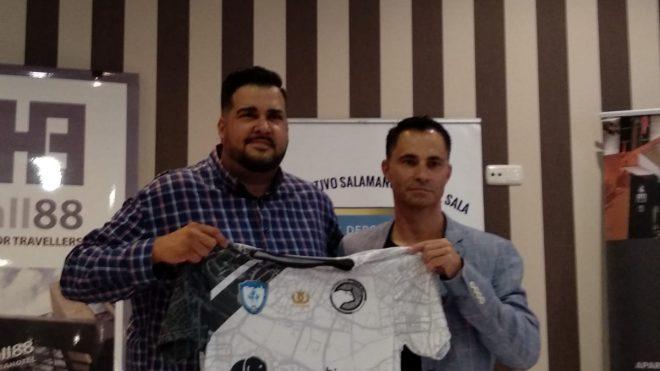Unionistas de Salamanca cierra un convenio de colaboración con el CD Fútbol Sala Salamanca
