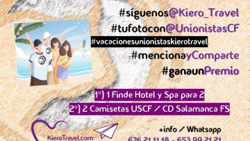 """Regresa el concurso """"Vacaciones Unionistas"""" de la mano de Kiero Travel"""