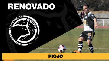 El capitán Piojo renueva con Unionistas de Salamanca hasta 2022