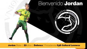 FICHAJE | El francés Jordan Blaise pasa a formar parte del primer equipo como profesional