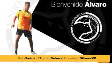 FICHAJE | Álvaro Santos firma por 2 campañas y pasa a formar parte de la primera plantilla