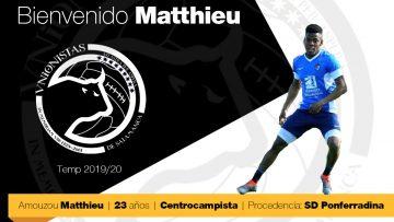 El mediocentro francés Matthieu, nuevo jugador de Unionistas de Salamanca