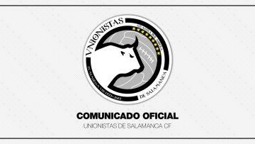 COMUNICADO OFICIAL | Javier Ribelles se desvincula de Unionistas de Salamanca