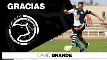 PLANTILLA | Unionistas de Salamanca y David Grande acuerdan la rescisión de su contrato