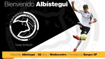 Álex Albístegui se incorpora a las filas de Unionistas de Salamanca cedido hasta final de temporada