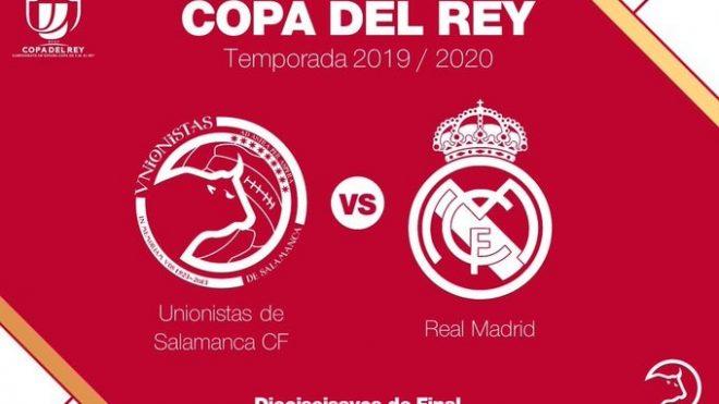 COPA DEL REY   Unionistas de Salamanca se medirá al Real Madrid en la tercera eliminatoria