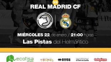 Información sobre las localidades para el Unionistas de Salamanca CF-Real Madrid CF