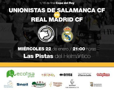 Medidas especiales de seguridad para el encuentro Unionistas de Salamanca - Real Madrid