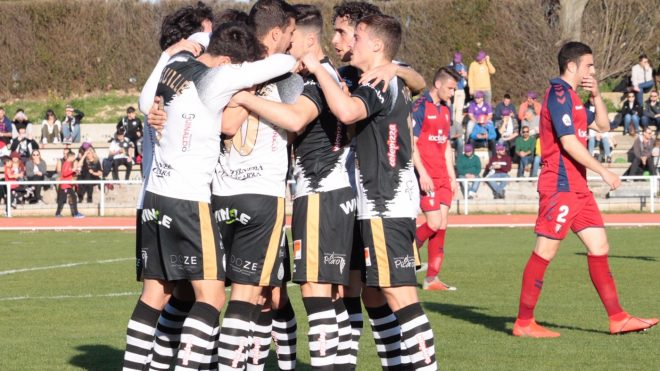 Jornada 28: Unionistas de Salamanca 4 - 0 Osasuna B