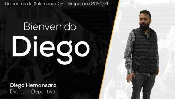 INCORPORACIÓN | Diego Hernansanz, nuevo director deportivo de Unionistas de Salamanca CF