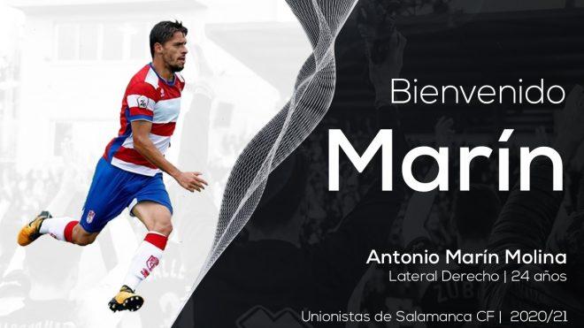 INCORPORACIÓN | Antonio Marín, primer fichaje de la temporada 2020-21