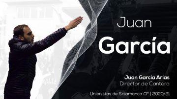 COMUNICADO OFICIAL | Garci, nuevo Director de Cantera de Unionistas de Salamanca