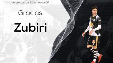 PLANTILLA | Íñigo Zubiri no renovará su contrato con Unionistas de Salamanca
