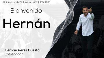 Hernán Pérez, nuevo entrenador de Unionistas de Salamanca CF
