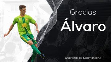 PLANTILLA | Álvaro Santos deja de pertenecer a la disciplina de Unionistas de Salamanca