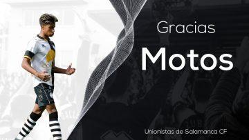 PLANTILLA | Motos no continuará ligado a Unionistas de Salamanca