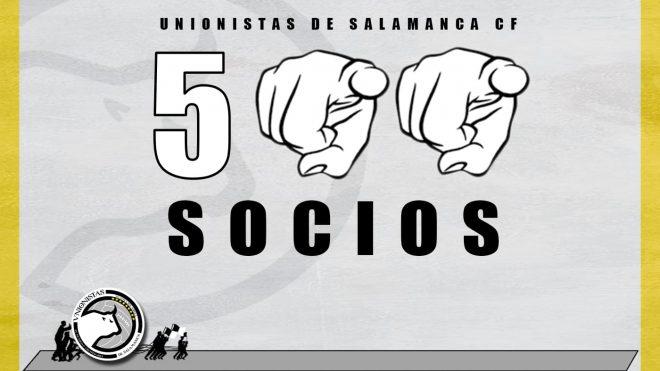CAMPAÑA | Unionistas de Salamanca supera ya los 500 socios
