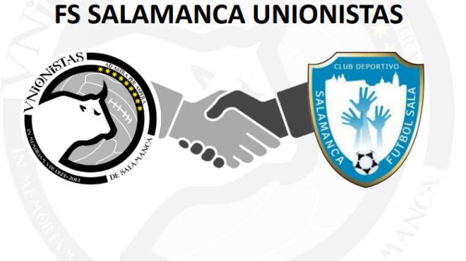 Unionistas de Salamanca CF y el FS Salamanca renuevan su convenio de colaboración