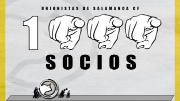 CAMPAÑA | Unionistas de Salamanca supera la barrera de los 1000 socios