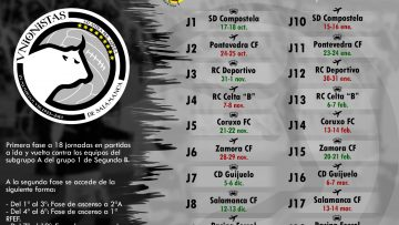 CALENDARIO |  Unionistas de Salamanca arrancará la temporada 2020/2021 ante la SD Compostela