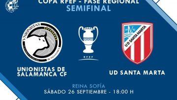 COPA RFEF | La semifinal ante la UD Santa Marta, el sábado 26 en el Reina Sofía