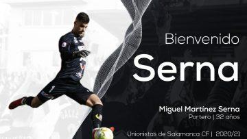 PLANTILLA | El cancerbero Miguel Serna, noveno fichaje de la temporada