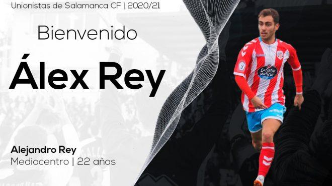 PLANTILLA | Álex Rey, refuerzo sub-23 para el primer equipo