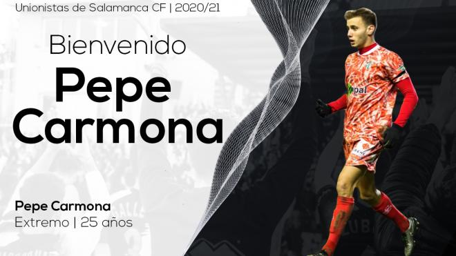 PLANTILLA | Pepe Carmona refuerza el ataque del primer equipo