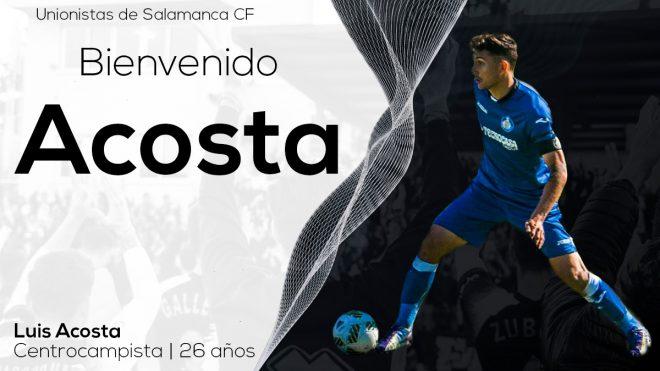 PLANTILLA   Luis Acosta, nuevo refuerzo para el primer equipo