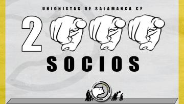 CAMPAÑA | Unionistas de Salamanca supera los 2.000 socios antes del comienzo de la temporada