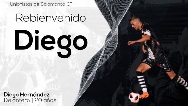 FICHAJE   El charro Diego Hernández regresa a Unionistas de Salamanca