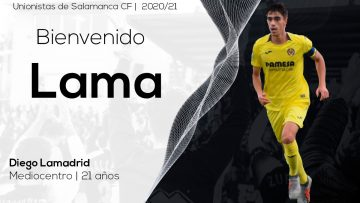 PLANTILLA | Diego Lamadrid firma por dos temporadas con Unionistas de Salamanca