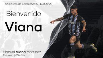 INCORPORACIÓN | Manu Viana, nuevo refuerzo de Unionistas de Salamanca