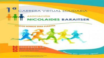 Unionistas con la 1ª carrera virtual solidaria de la Asociación Nicolaides-Baraitser
