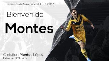 PLANTILLA | Unionistas de Salamanca se hace con los servicios de Christian Montes